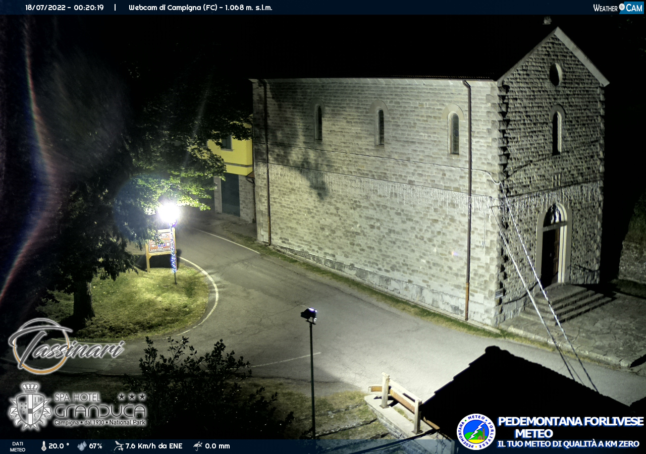 webcam forli centro