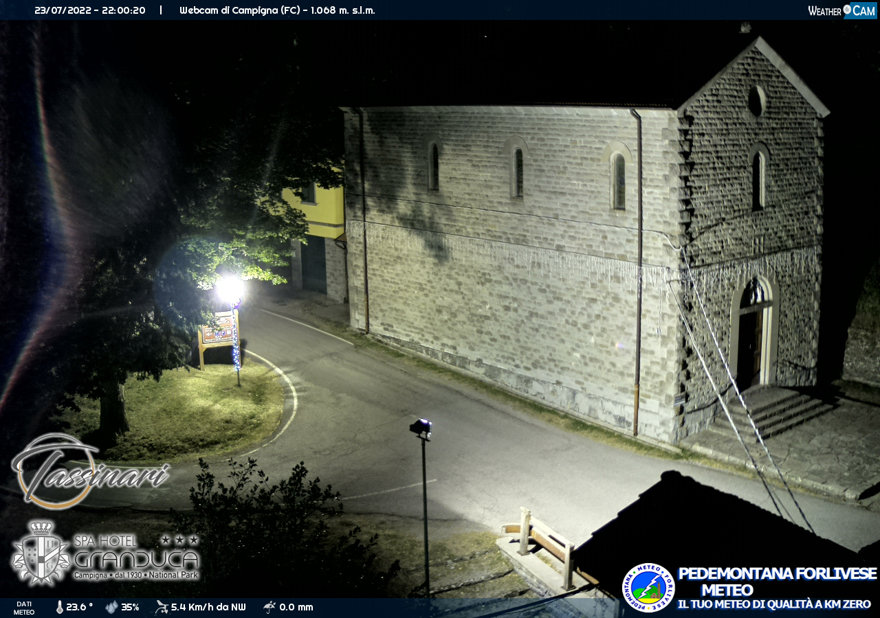 webcam campigna strada