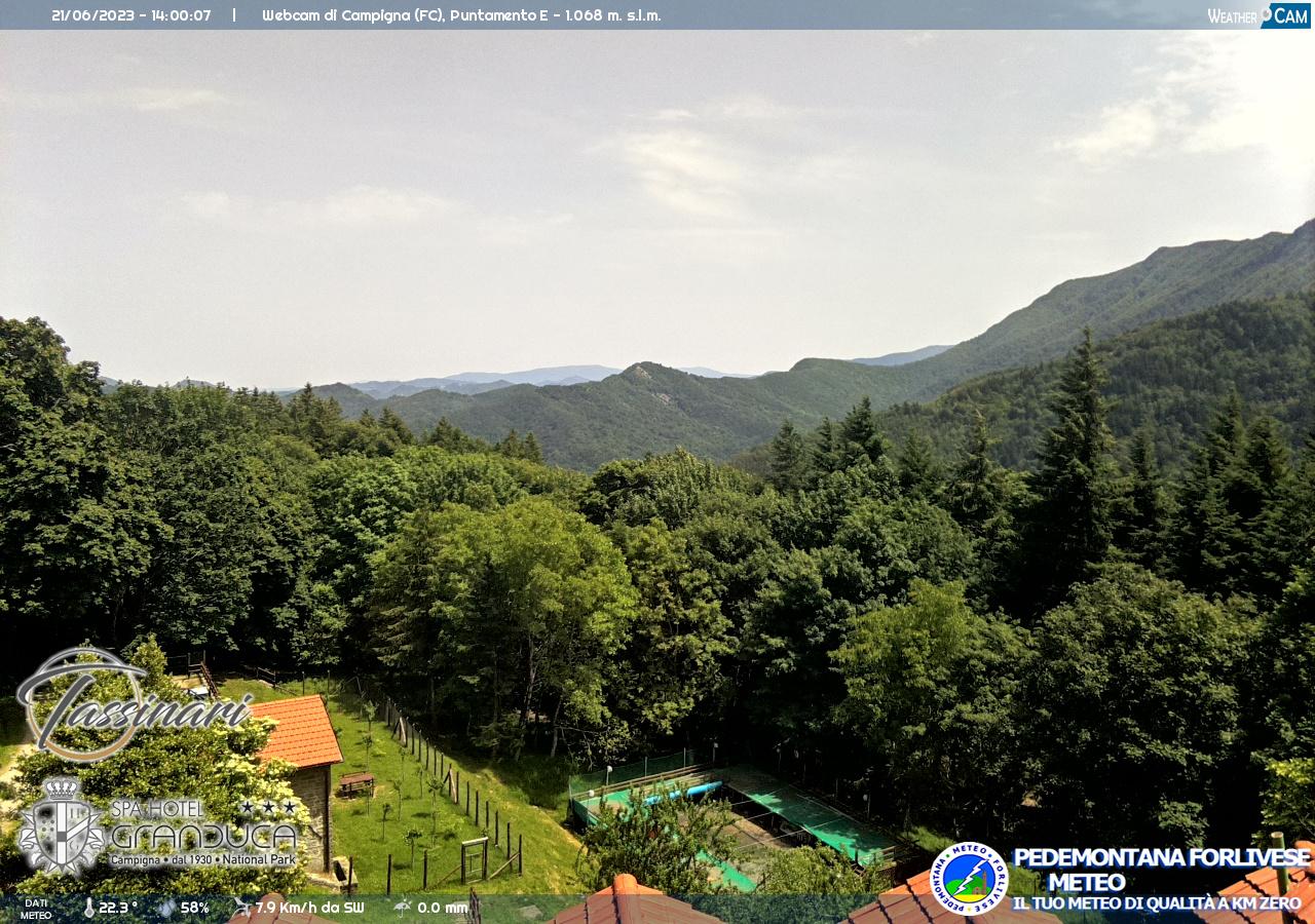 webcam campigna valle