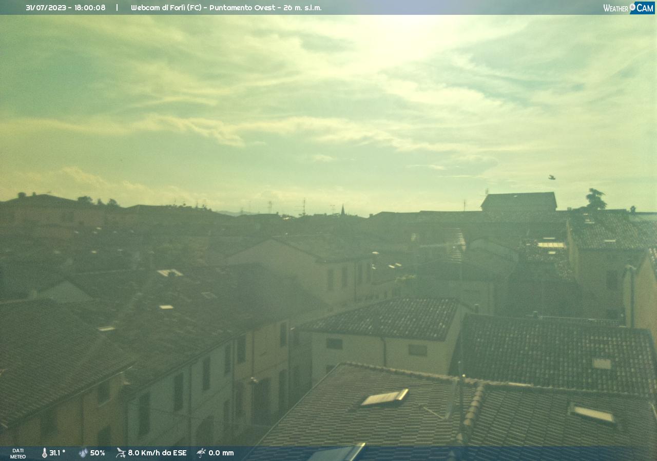 webcam forli