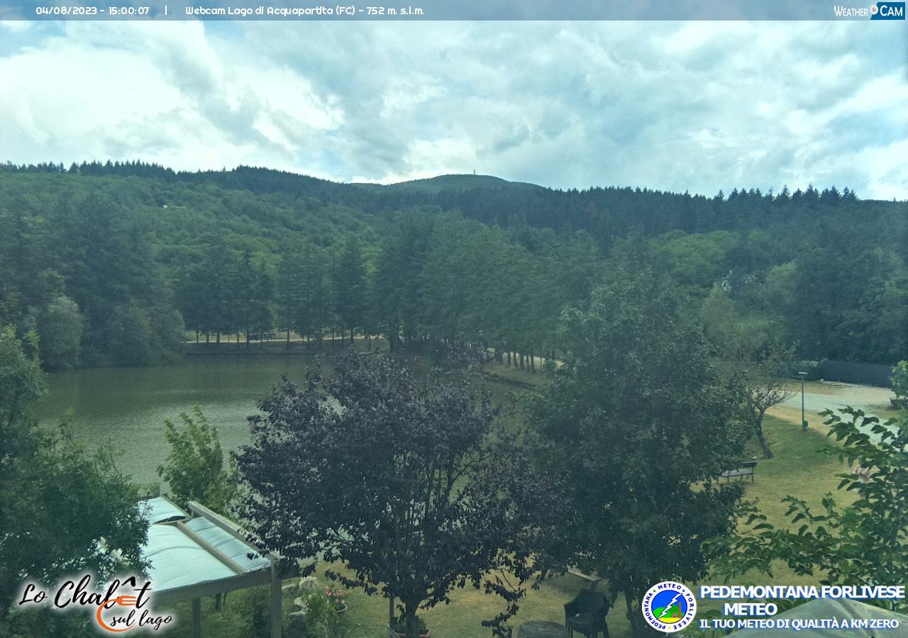 webcam lago acquapartita