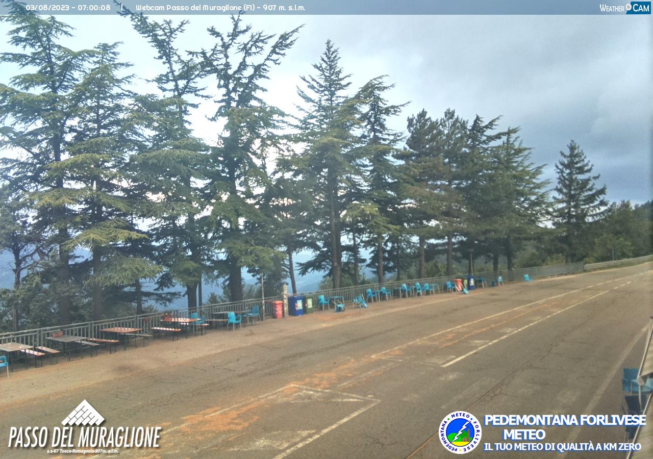 webcam passo del muraglione
