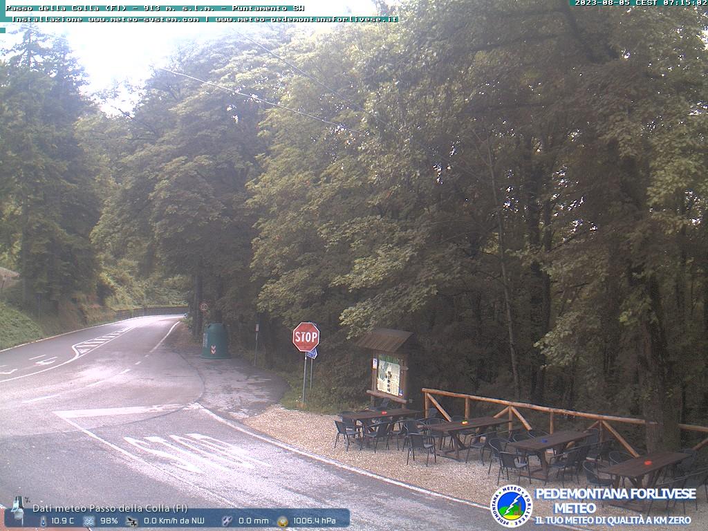 webcam passo della colla